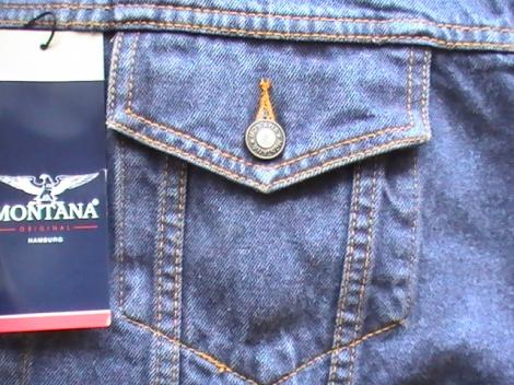 """куртка джинсовая мужская """"montana"""", модель 12010 Montana джинсовые куртки 12010"""