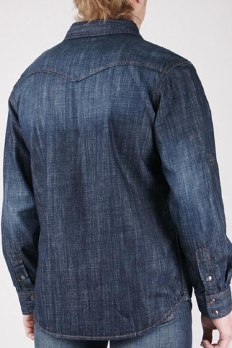 джинсовая рубашка 11056 Montana рубашки 11056