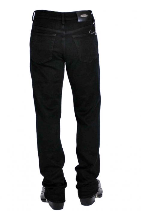 джинсы черные мужские Johnwin( Hugo Boss) джинсы классические 58-11