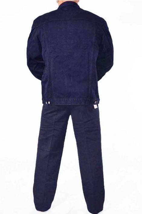 джинсовый костюм темный синий Johnwin( Hugo Boss) джинсовые костюмы 008.111.094-2