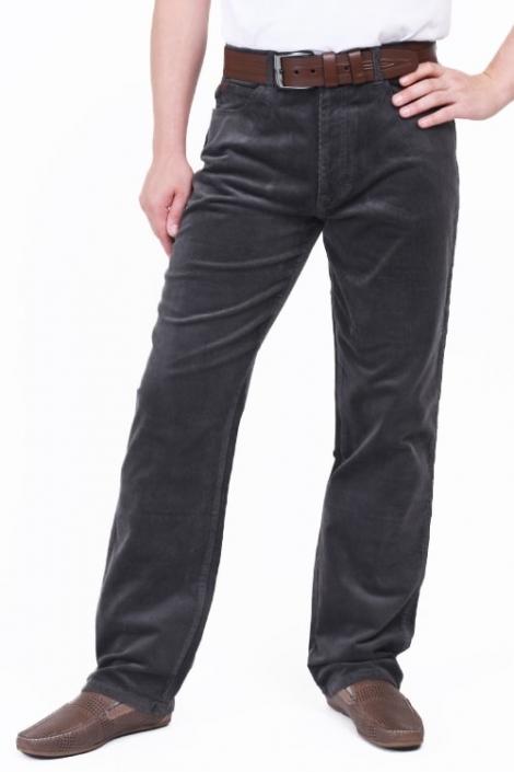 джинсы монтана вельвет gry Montana джинсы классические MO 842 Gry