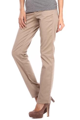 бежевые брюки montana Montana женские джинсы  10779 Sand