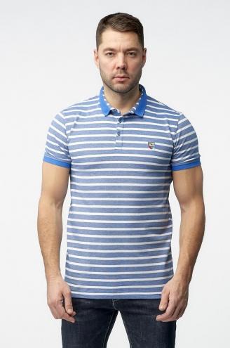 Джинсовая рубашка мужская Johnwin