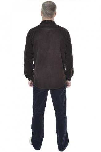 Рубашка мужская MONTANA 11041 коричневый