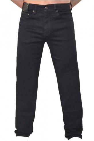 джинсы мужские черные утепленные Johnwin( Hugo Boss) джинсы классические 025.101.00