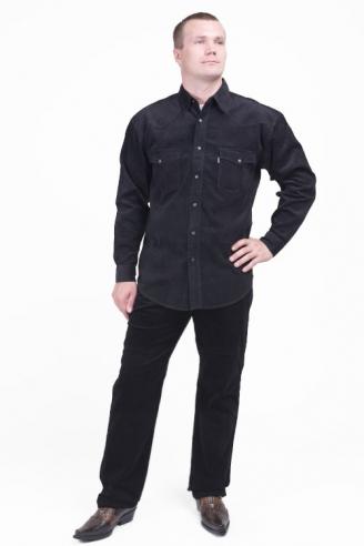 рубашка и джинсы вельвет montana black Montana джинсовые костюмы MО842+542 L-1 BLack