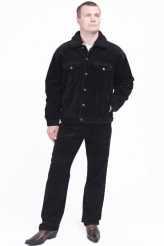 вельветовая куртка монтана черная Montana джинсовые куртки 5030 Black