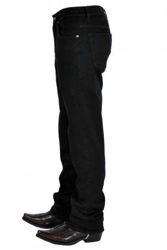 джинсы черные мужские Johnwin( Hugo Boss) джинсы классические 025.101.00