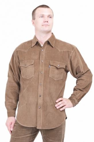 Рубашка вельветовая Монтана GRN
