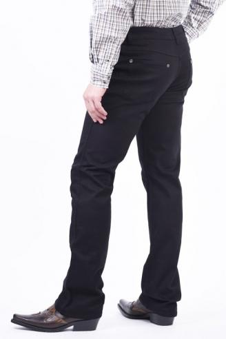 черные джинсы стрейч монтана Montana джинсы классические 4859-2