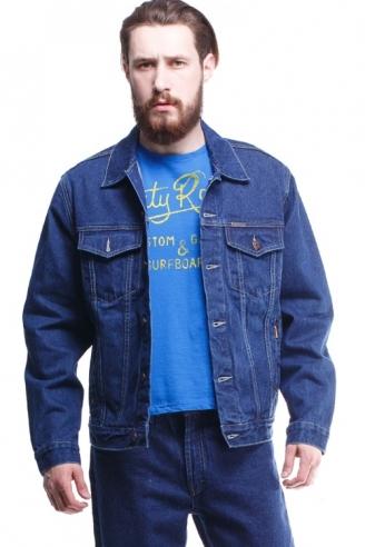 Куртка джинсовая синяя 12062