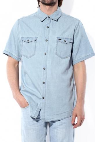 Рубашка мужская Montana  11064 Light blue