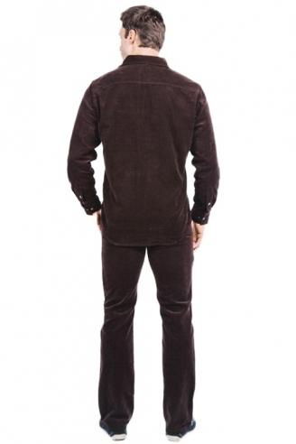 рубашка мужская montana 11041 коричневый Montana рубашки 11041