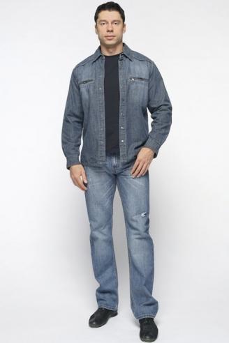рубашка джинсовая монтана утепленная 11052 Montana рубашки 11052