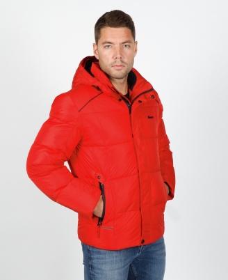 куртка shark force красная 15517a Shark force пуховики 15517A