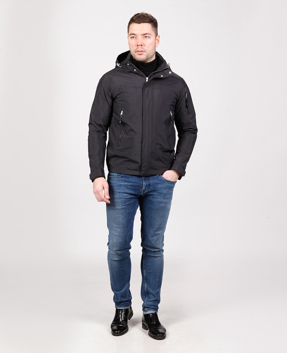 куртка черная tiger force 51147 Tiger Force куртки и ветровки 51147