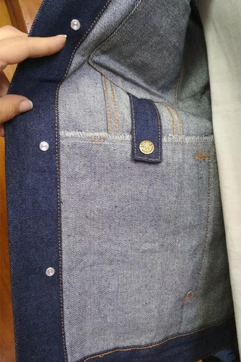 Жилет джинсовый Montana 12052RW