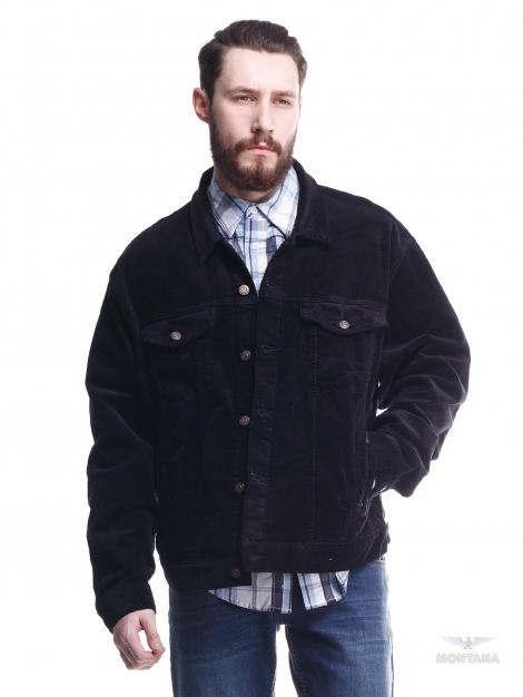 черная вельветовая куртка montana Montana джинсовые куртки 12045