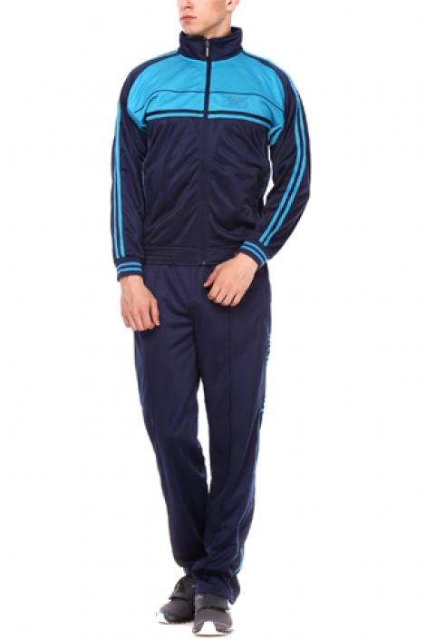 спортивный костюм montana сине-бирюзовый Montana мужская одежда 27051 Navy/Turquoise