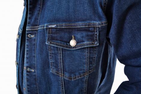 Мужская куртка джинсовая