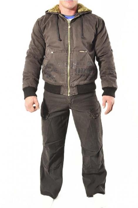 джинсовый костюм коричневый cordial Cordial Jeans джинсовые костюмы 1226
