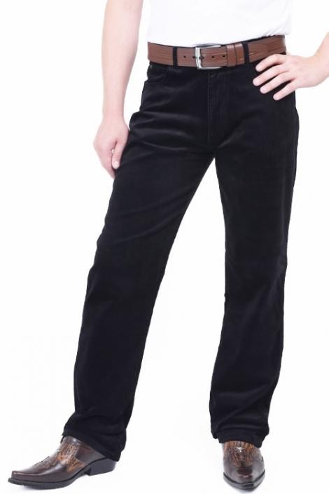 джинсы райфл вельвет black Rifle джинсы классические RL-842L Black