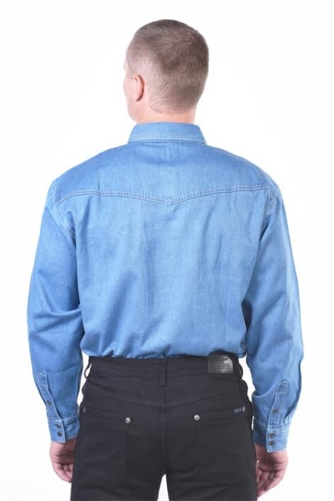 рубашка монтана голубая Montana рубашки 501-LST