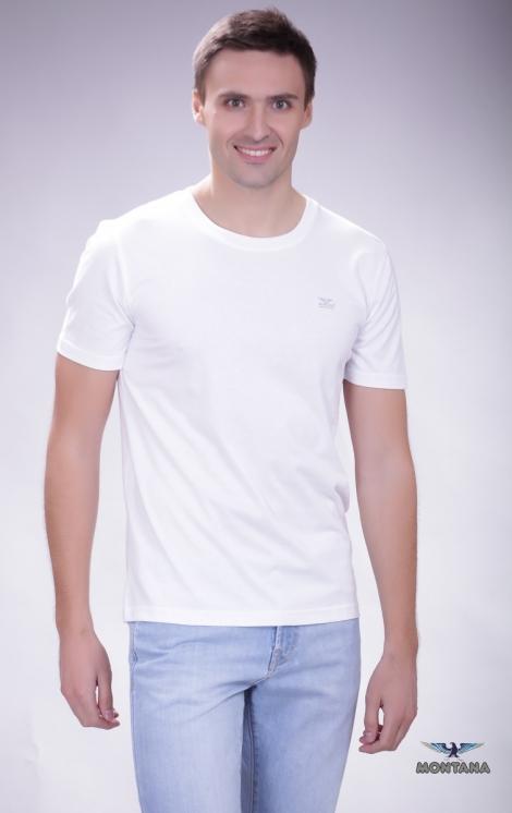 футболка montana 21083 белая Montana футболки 21083