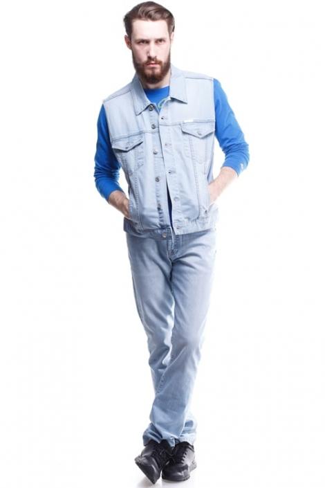 жилет джинсовый montana 12055 Montana джинсовые куртки 12055