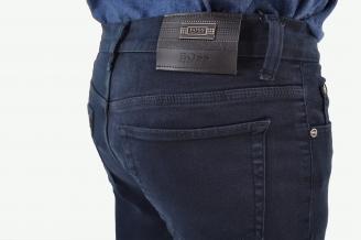 Джинсы мужские синие с шелком BOSS