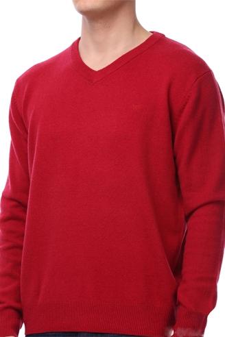 свитер мужской красный 26096 Montana толстовки и свитера 26096