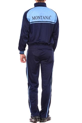 спортивный костюм montana сине-голубой Montana мужская одежда 27051 Navy/Blue