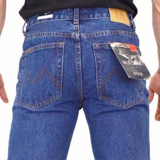 джинсы монтана утеплённые классические Montana джинсы классические S-1011 Stone Wash