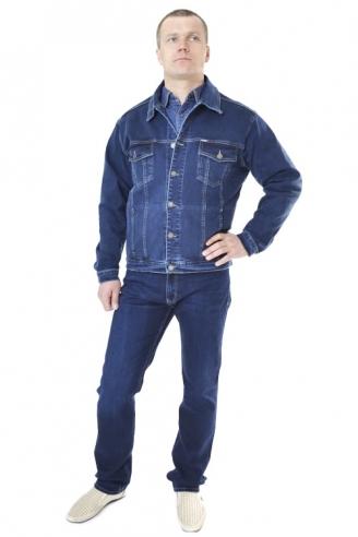 Джинсовая куртка мужская