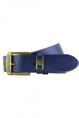 Ремень МОНТАНА 7578 Gold Blue