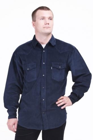 Рубашка вельветовая Монтана Nav-Velvet