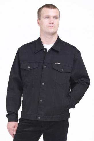 куртка монтана черная Montana джинсовые куртки S-3919M(2)