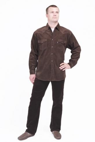 Джинсы и рубашка Монтана Caf+D.Brown