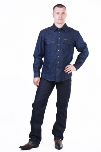 рубашка монтана garmen-wash Montana рубашки 5058 Garment Wash