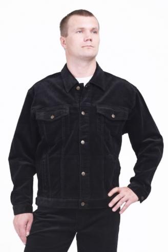 Куртка вельветовая Монтана Black