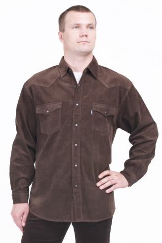 Рубашка вельветовая Монтана Caf