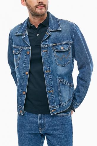 Куртка мужская джинсовая Wrangler W4MJUG925