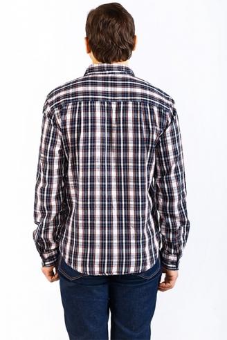 мужская рубашка montana Montana рубашки 11058 Blue