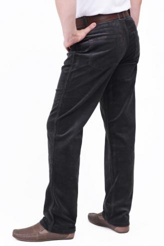 Монтана вельветовые джинсы графит