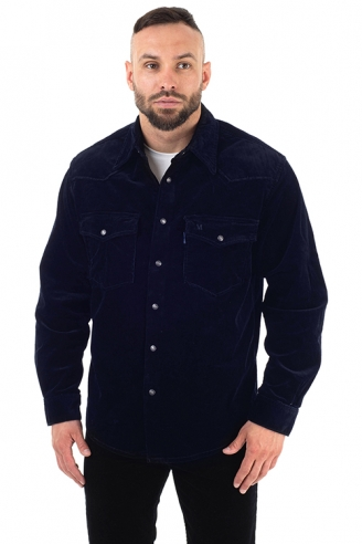 Рубашка мужская MONTANA 11041 Navy